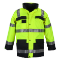 Warm Reflective safety jacket