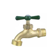 Single Handle Brass Water Saving Bathroom Faucet