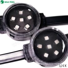 câble en acier installation fixe 6 leds point couleur pleine chaîne rgb lumière dc24v