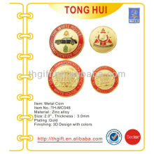 Various Army design Metal Commemorative coin,souvenir coin with gold plating
