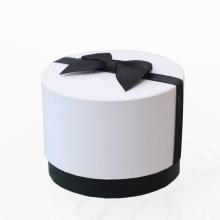 Embalaje de tubo de papel de cilindro de borde plano