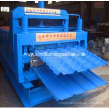 Máquina para fabricar tejas metálicas de acero de color