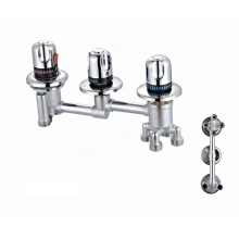 Factory standard bathroom wall mount mixers thermostatic faucet