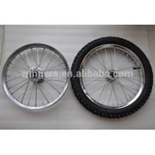 """roda de aro de aço 16x2.125 16 """"20"""" rodas de bicicleta de ar"""