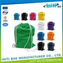 Cheap shopping high quality cotton drawstring laundry bag