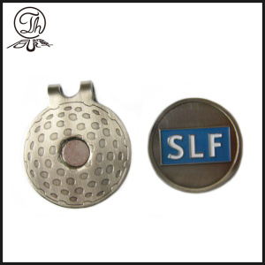 Custom Golf Ball Marker Hut Clip