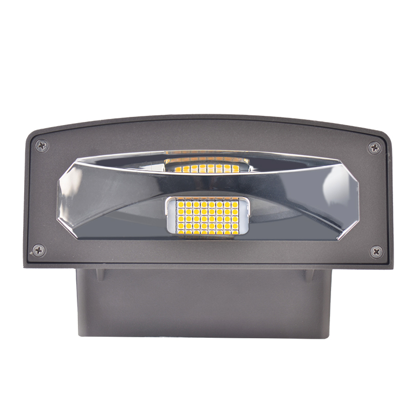 Led Wall Pack With Emergency Backup