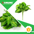 Home decoration customized artificial green plant foliage