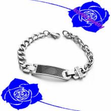 2016 новый браслет из нержавеющей стали 316l нержавеющей стали браслет сталь время браслет мужчины ювелирные изделия