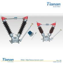 Interrupteur de sectionneur à courant alternatif haute tension extérieur (GW4-40.5-1)