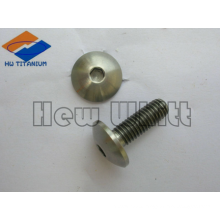 titanium cup bolt with hex socket head