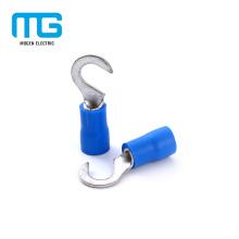 Terminais isolados do gancho do cabo de cobre da desconexão rápida para elétrico