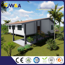 (WAS3507-122D)China Prefab Modular Houses for Modern Gallery Building