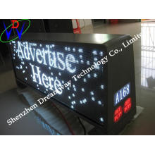 Singapore Advertising Car Roof LED Sign