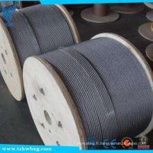 Fourniture de cordage en acier inoxydable 316 en acier inoxydable SUS304