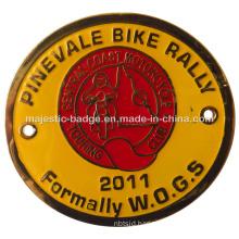 Customized Black Nickel Plating Sport Badge