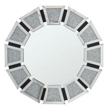 Crystal diamond MDF mirror hanging mirror