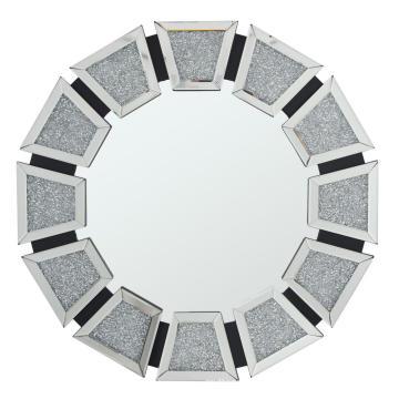 Crystal diamond MDF mirror hanging mirror