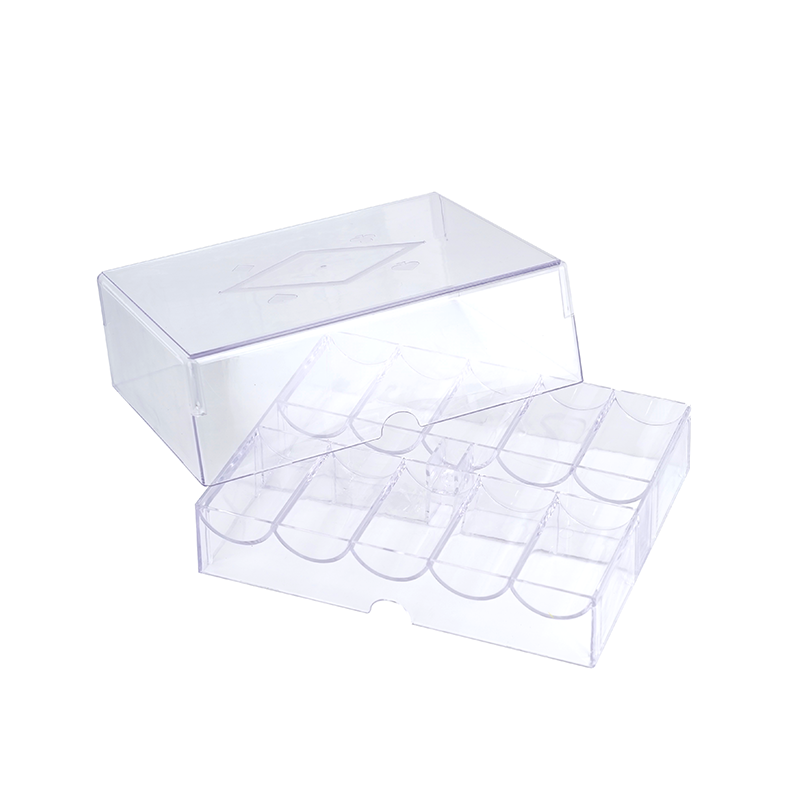 200 Ct Acrylic Chip Tray With Lid