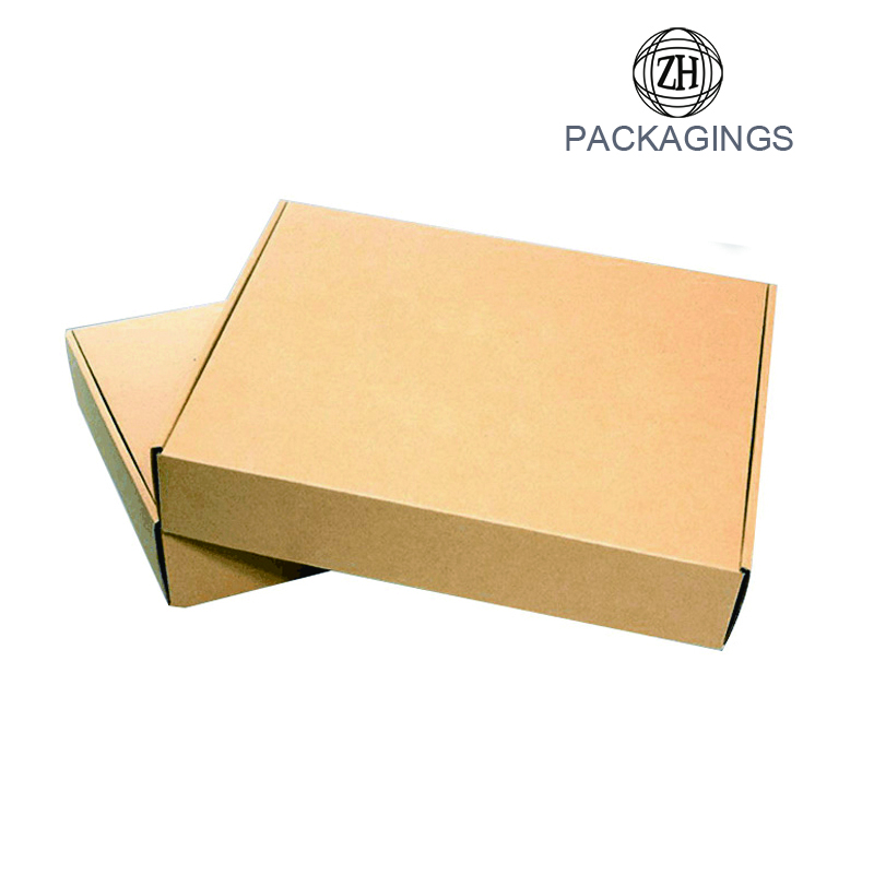 Custom printed paper shipping box