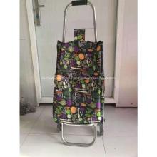 Bolso plegable de la carretilla de compras de las verduras de las compras