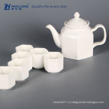 Awalong настроить Китай стиль фарфор белый чайник набор / классический керамический чайник подарочный набор для взрослых