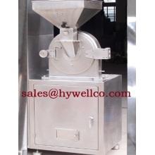 Máquina trituradora de hierbas secas