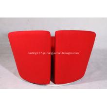 cadeira lounge de tecido Truelove chair