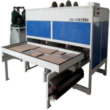 máquinas de laminación al vacío de trabajo de madera
