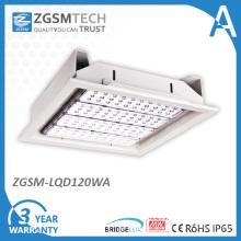 Luz quente do dossel do diodo emissor de luz da venda 120W 120W da fábrica de Zgsm