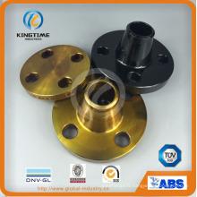 Brides forgées en acier au carbone d'ASTM A234 Wpb A105 (KT0384)