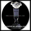 высокое качество K9 пустой рукопожатие кристалл премии кристалл trohpy