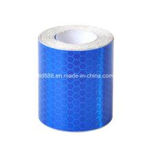 """Nuevo 2"""" X10′ cinta de 3 m azul reflectante seguridad ADVERTENCIA de la evidencia"""
