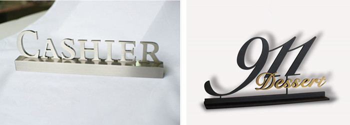 metal letter signs for business
