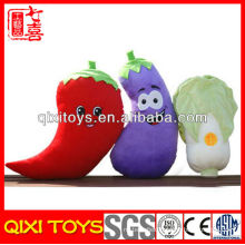 Wholesale stuffed plush eggplant toys