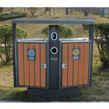 2014 Caja de basura al aire libre barata del ambiente WPC de la venta caliente