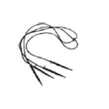 Высокое Качество Четыре Ветви Прямые Капельница Стрелка