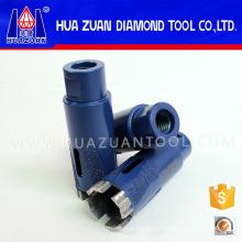 """Sierras de corona de diamante de 35 mm (1-3 / 8 """"X5 / 8-11"""") para granito"""