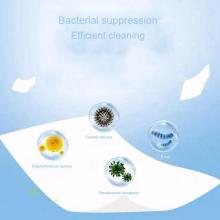 50 Unids / bolsa desinfectante desechable que limpia las servilletas de alcohol