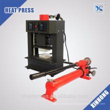 Pressão hidráulica de pressão de colofonia hidráulica manual máquina de pressão térmica