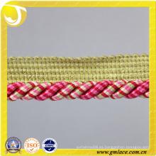 Personalizado decoración cuerda para cojín decoración sofá decoración sala de estar cama habitación