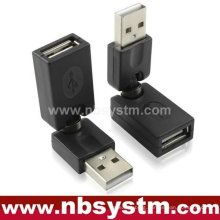 rotating 360 degree USB adapter A male to A female
