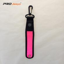 Protective Retro LED Pink PVC Keyring