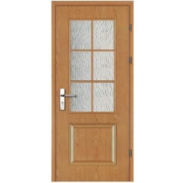 portas de madeira interiores sólido de venda quente