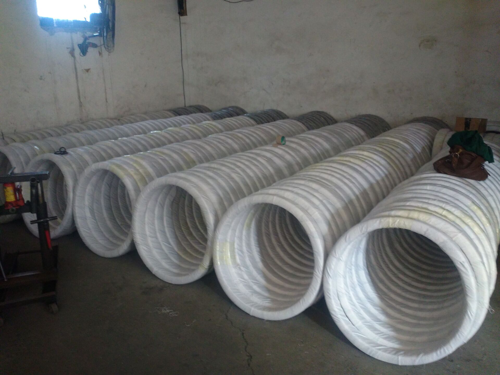 Oval Galvanized Steel Wire