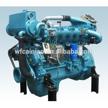 motor diesel marino caliente de la venta 6 cilindros, motor marino 200hp, motor diesel marino