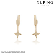 94557 xuping hot sale trend fashion star shape women wholesale studs earring