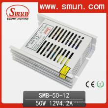 Caso plástico da fonte de alimentação do interruptor de 50W 12V 4A ultra finamente