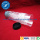 Tube en plastique transparent pour cheveux allonge en Extrusion