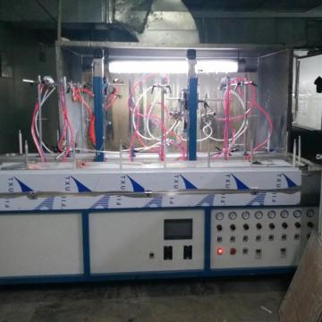 Automatic liquid paint spraying machine